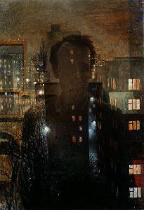 Окно. Автопортрет (1976)